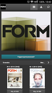 Form Magazine screenshot 1