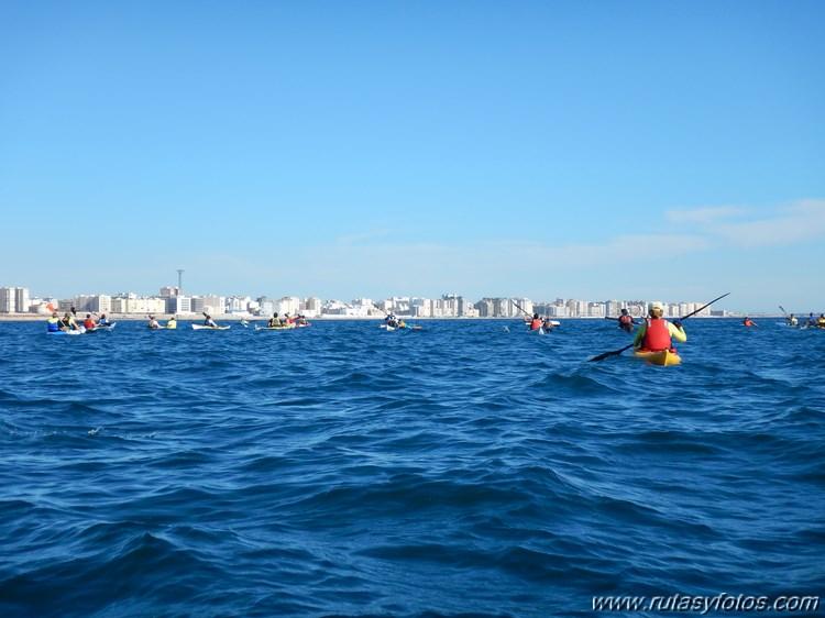 Concentración Kayak de Mar La Caleta 2016