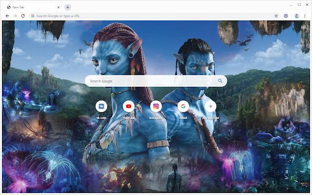New Tab - Avatar 2
