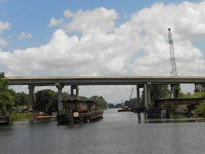 Photo: A swing bridge