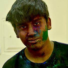 Artistic Human Face by Nadeem M Siddiqui - People Portraits of Men