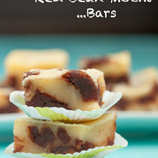 Red Bean Mochi Bars