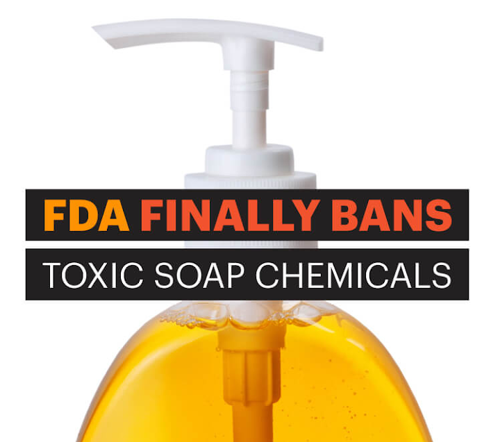 FDA Bans 19 Chemicals Used In Antibacterial Soaps