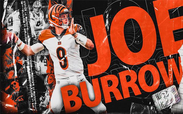 Joe Burrow Themes & New Tab