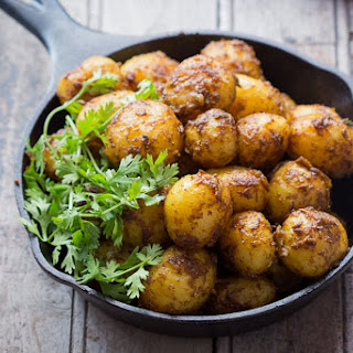 Bombay Potatoes (Chatpate Masala Aloo)