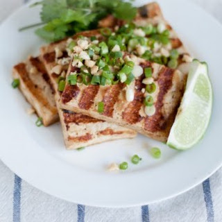 Grilled Asian Tofu Bowls