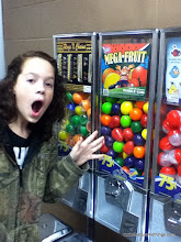 Photo: Big mouth, but not big enough for THESE gumballs!