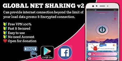 Global Net Sharing Free VPN