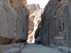 """Photo: Petra is Jordan's biggest tourist attraction.  While long known, it became much more popular after being featured in the 1989 Harrison Ford movie, """"Indian Jones and the Last Crusade."""""""