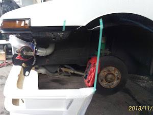 スプリンタートレノ AE86 60年GT-APEXのカスタム事例画像 にかんさんの2018年11月22日12:40の投稿