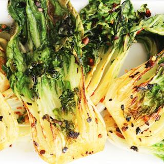 Pak Choi (Bok Choy) with Garlic & Chilli Recipe