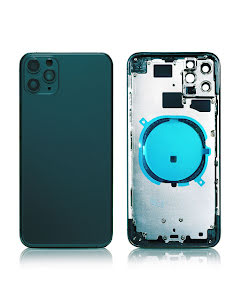 iPhone 11 Pro Max Back Housing without logo High Quality Space Gray