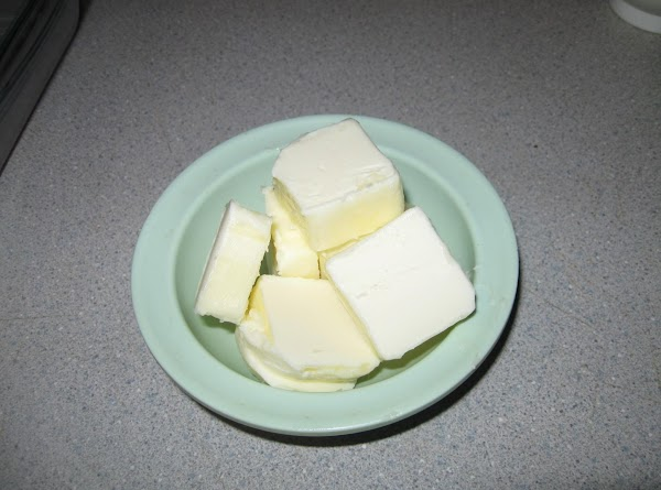 Cut remaining butter and set aside.
