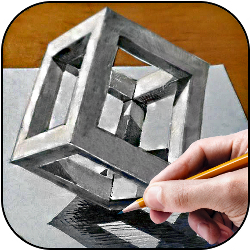Learn to draw 3D (app)