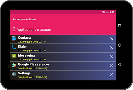 AntiVirus Android Security Screenshot