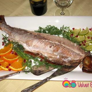 Persian Smoked Whitefish.