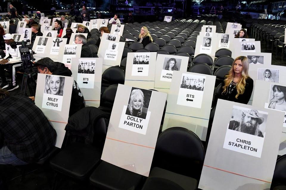 bts grammys seating 1