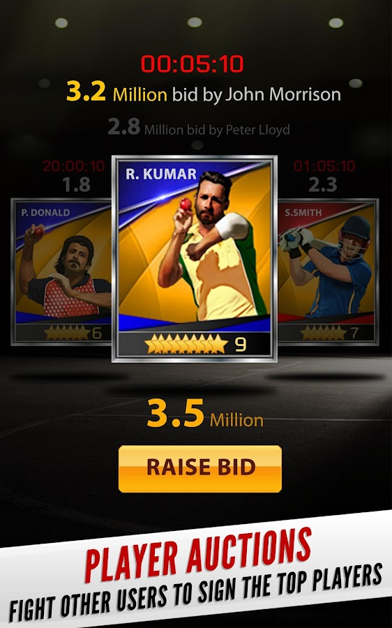 Hitwicket Cricket Game 2017 - Own a T20 Team- screenshot