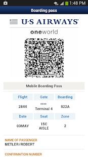 US Airways - screenshot thumbnail
