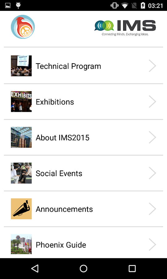 IMS2015- screenshot