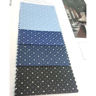 """NOS5249 50s dot print shirting  100%Cotton  light weight for menshirt  Width: 57-58"""""""