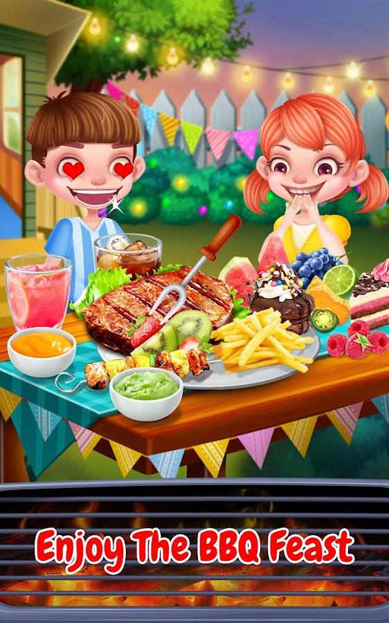 Crazy BBQ Backyard Party Screenshot
