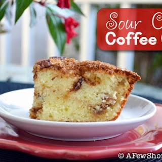 Sour Cream Coffee Cake.