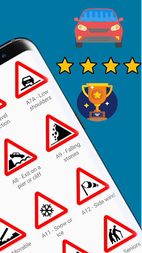 Traffic Signs: Road signs and meanings  screenshots 2
