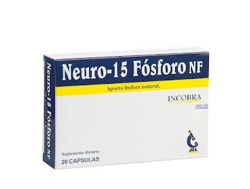 NEURO-15 FOSFORO NF   CÁPSULAS CAJA X20CAP. INCOBRA COMPLEJO FOSFADIC