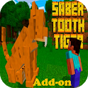 Sabertooth Tigers Add-on for MCPE icon