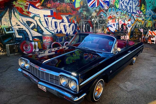 1964 impala SS Convertible Hire Huntington Beach