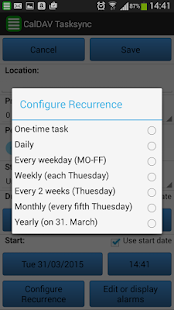CalDAV TaskSync beta- screenshot thumbnail