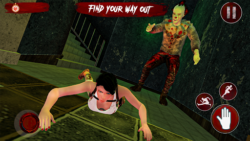 Pennywise killer clown Horror games 2020  screenshots 10