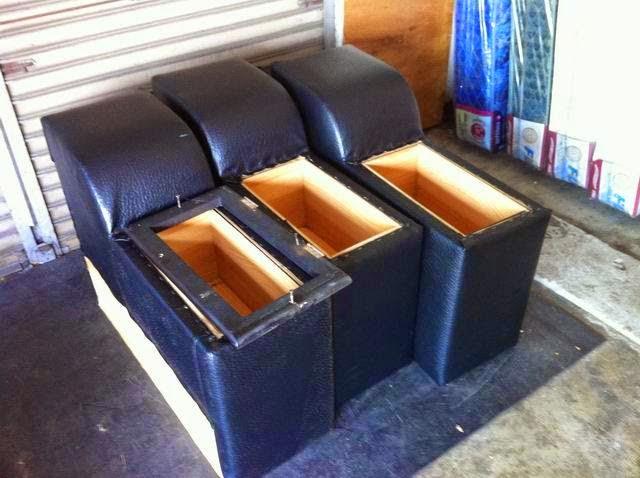 L型沙發修理