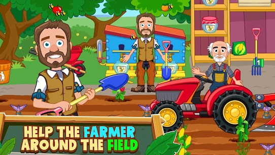 My Town: Farm Life Animals Game MOD APK [All Unlocked] 9
