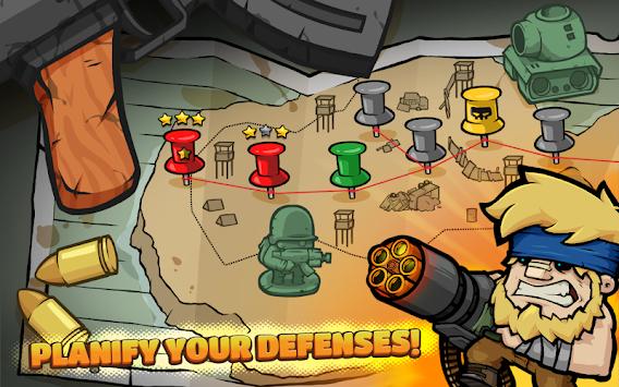 Metal Soldiers TD: Tower Defense apk screenshot