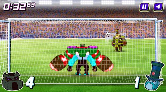 Alien Transform penalty power football game 3