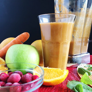 Vitamix Orange Beauty Smoothie