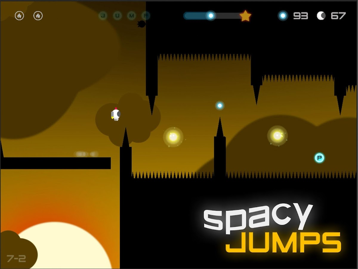 Spacy Jumps- screenshot