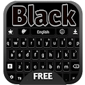 Black Keyboard icon