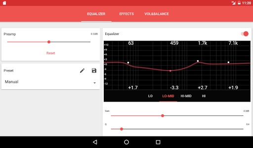 Music Player Equalizer Pro v1.2.3