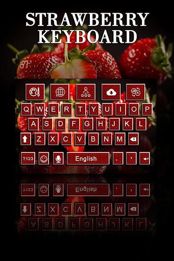 Strawberry Keyboard Theme Apk Download 2