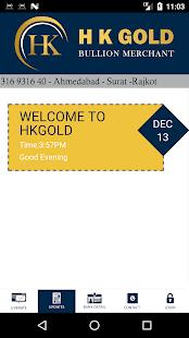 H K Gold - náhled