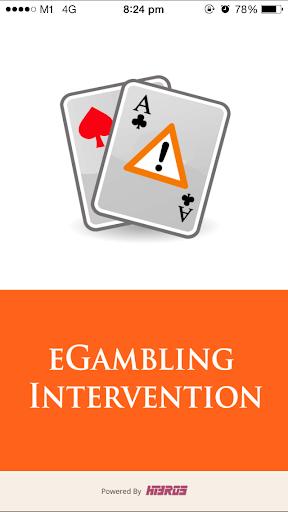 eGambling Intervention