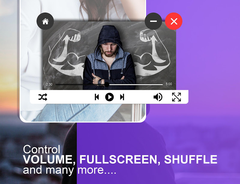 Video PopUp Player Screenshot 1