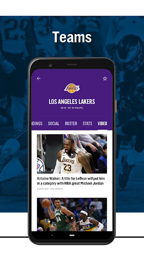 FOX Sports: Latest Stories, Scores & Events screenshots 6