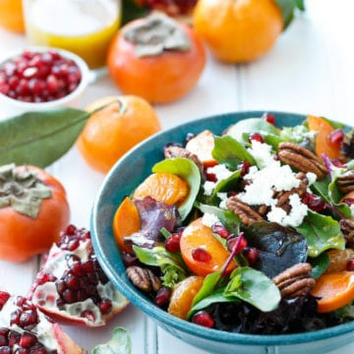 Winter Salad with Citrus Vinaigrette Recipe
