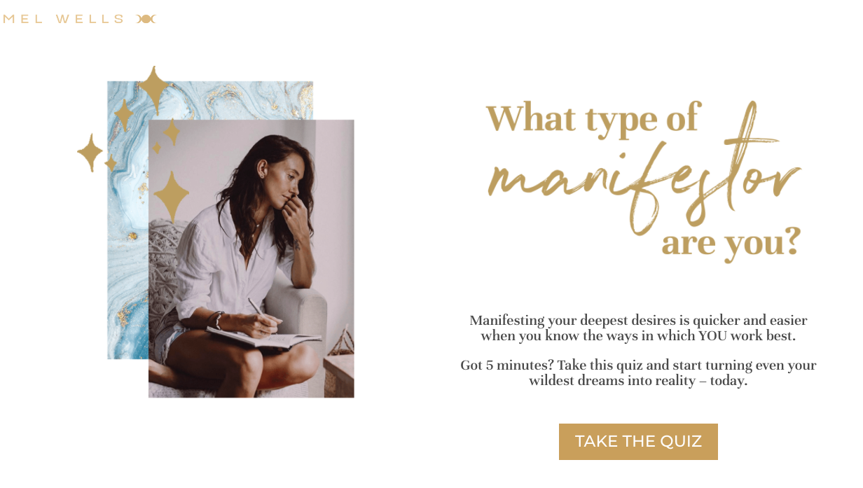 What type of manifestor are you quiz landing page