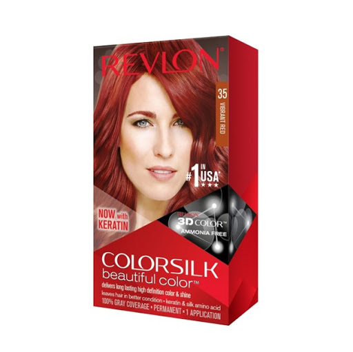 tinte revlon color silk rojo vibrante 35