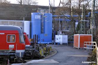 Photo: GWM 3 auf dem Gelände des Abstellbahnhofs